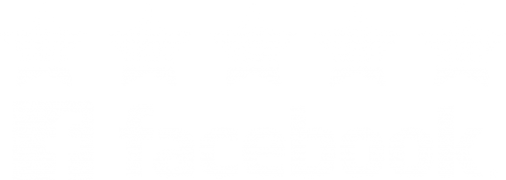an icon showing a 5 star Facebook rating