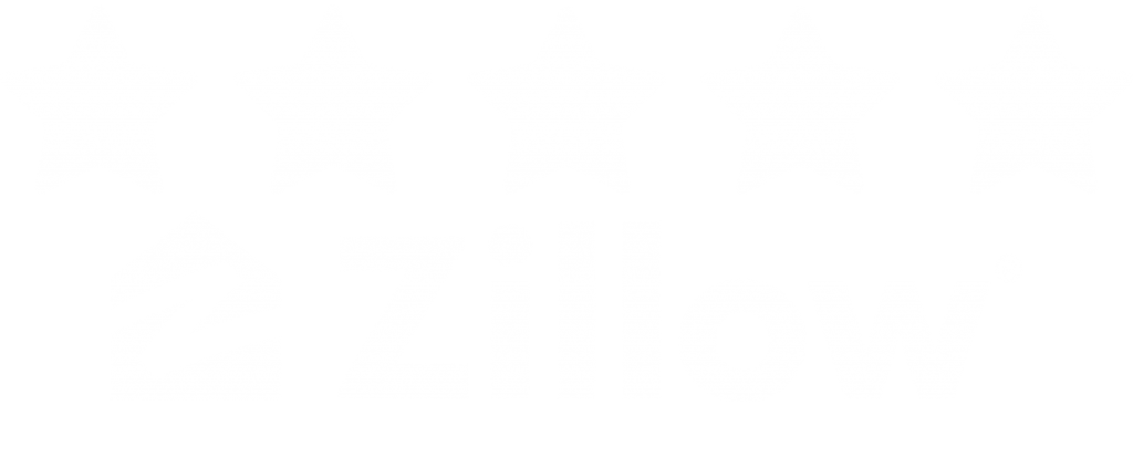 an icon showing a 5 star zillow rating